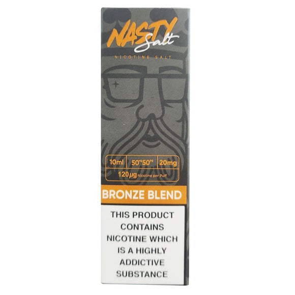 Nasty Juice Nic Salts - Bronze Blend E Liquid-Fogfathers