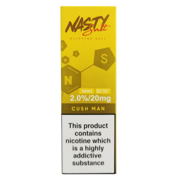 Nasty Juice Nic Salts - Cush Man E Liquid-Fogfathers