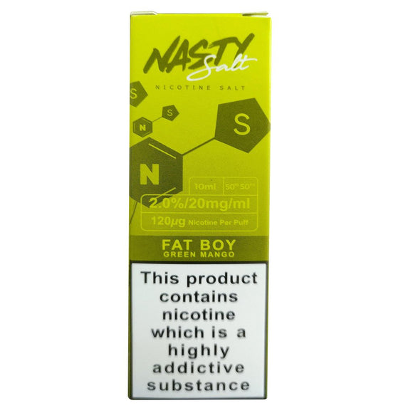 Nasty Juice Nic Salts - Green Ape E Liquid-Fogfathers