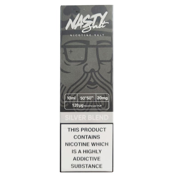 Nasty Juice Nic Salts - Silver Blend E Liquid-Fogfathers