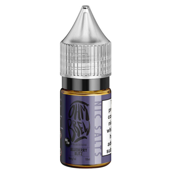 Ohm Brew - Blueberry Blitz E Liquid-Fogfathers