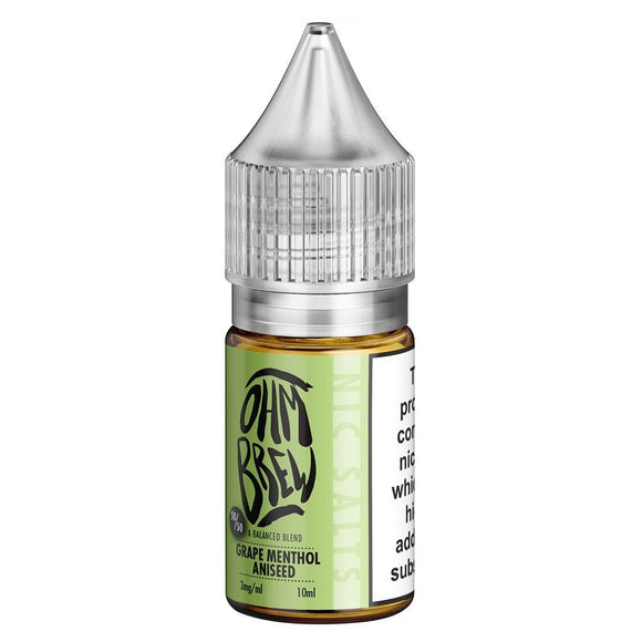 Ohm Brew - Grape Menthol Aniseed E Liquid-Fogfathers