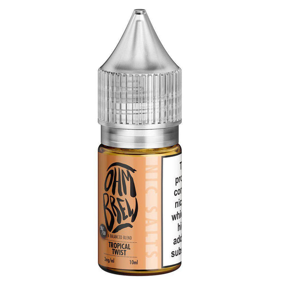 Ohm Brew - Tropical Twist E Liquid-Fogfathers