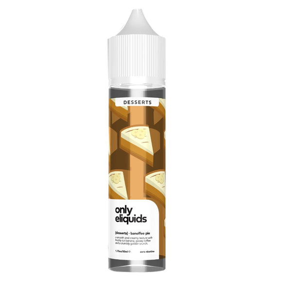 Only E Liquid - Banoffee Pie E Liquid-Fogfathers