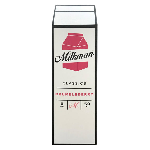 The Milkman - Crumbleberry E Liquid-Fogfathers