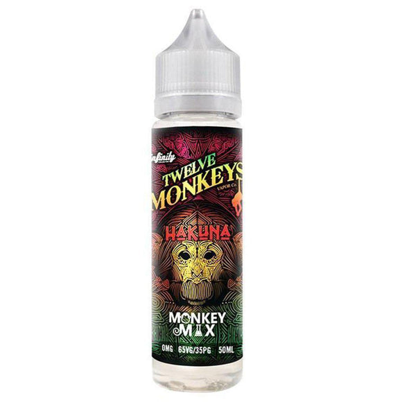 Twelve Monkeys - Hakuna E Liquid-Fogfathers