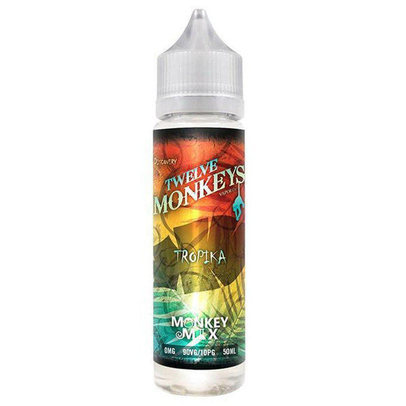 Twelve Monkeys - Tropika E Liquid-Fogfathers
