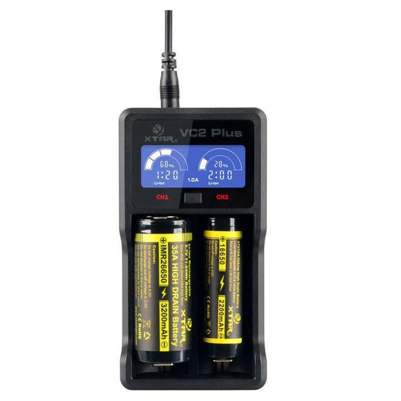 Xtar VC2 Plus Master Battery Charger-Fogfathers