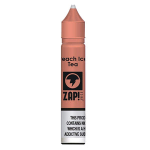 Zap Nic Salts - Peach Ice Tea E Liquid-Fogfathers