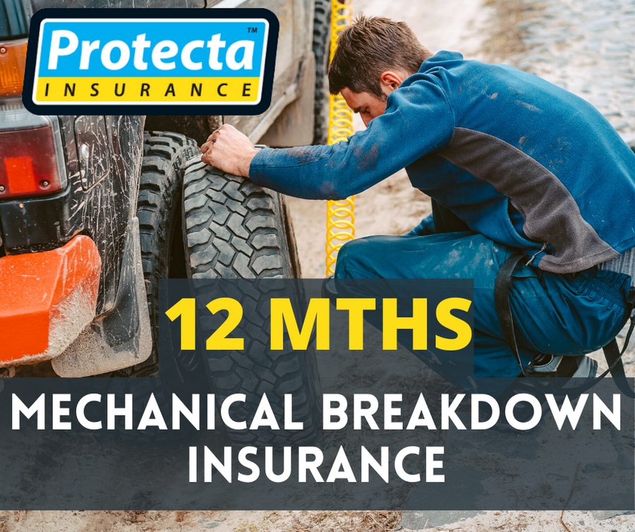 12 mths Mechanical Breakdown Insurance