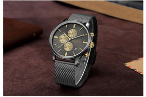 Special Edition Black & Gold BAOGELA Watch - Luxury Watches Shop