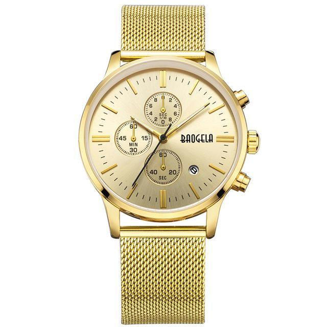Special Edition Gold BAOGELA Watch - Luxury Watches Shop