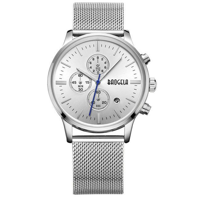 Special Edition Silver BAOGELA Watch - Luxury Watches Shop