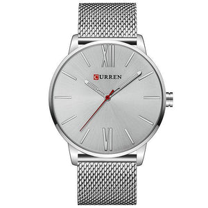 Silver Curren Watch - Luxury Watches Shop