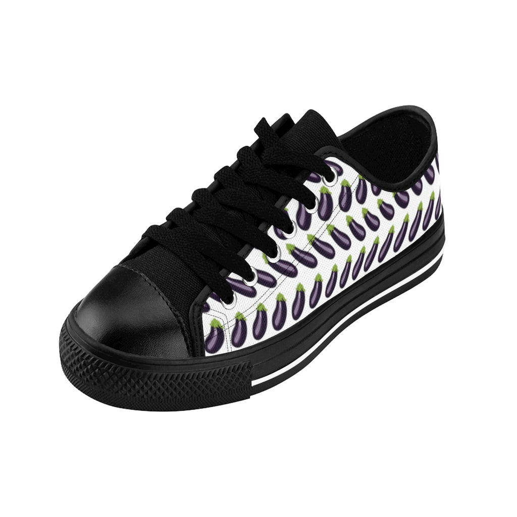Aubergine Low Tops