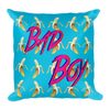 Bad Boy Throw Pillow