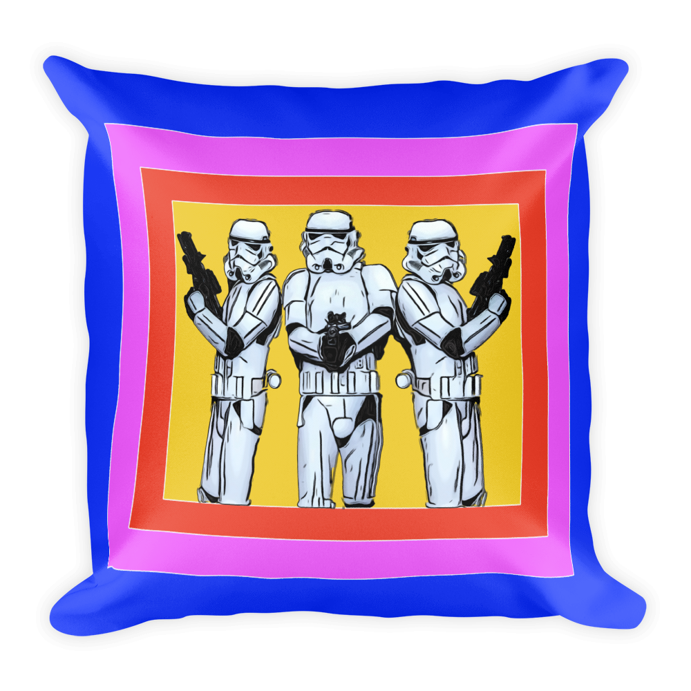 Super Trooper Throw Pillow