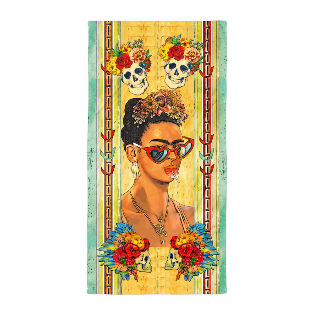 Club Kid Frida Beach Towel