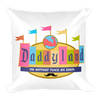 Daddyland Throw Pillow