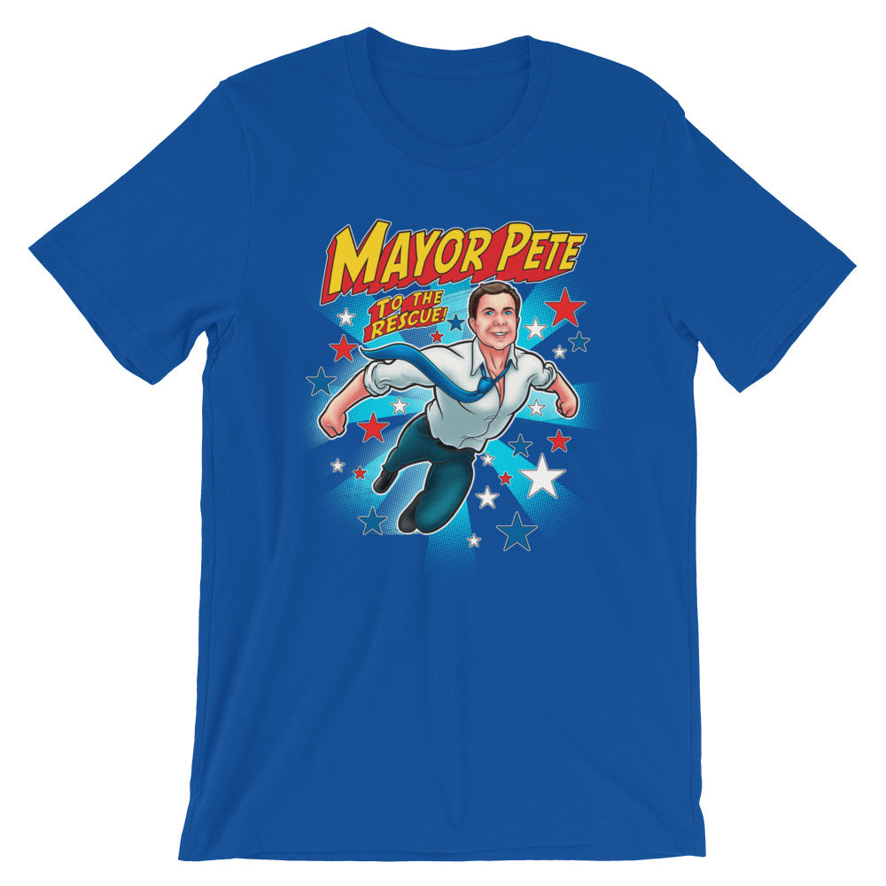 Mayor Pete to the Rescue Tee