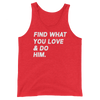 Find What You Love Tank