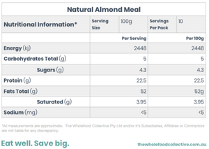 Australian Natural Almond Meal