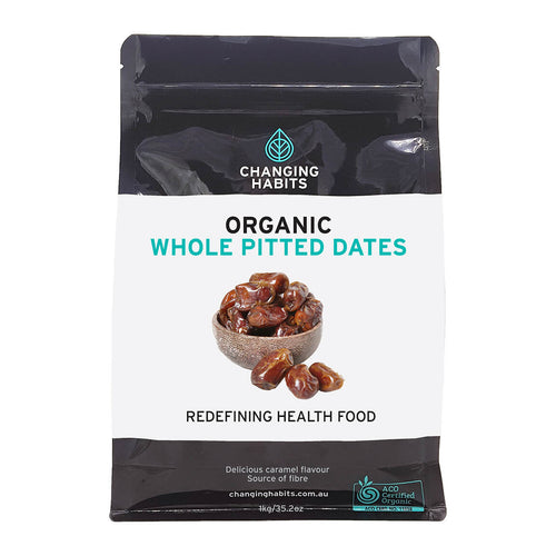 Organic Whole Pitted Dates