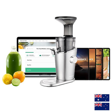 H100 Hurom Premium Cold-Pressed Juicer + Free Program & Bonuses