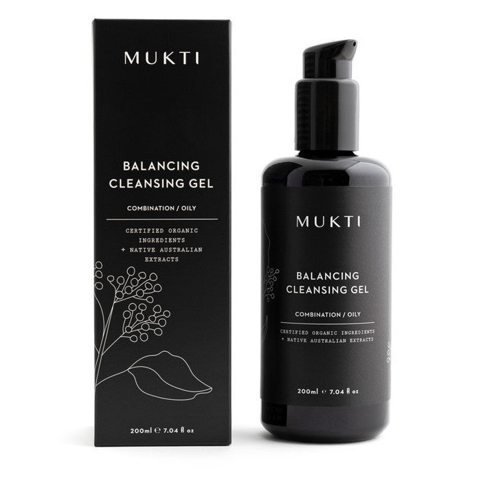 Mukti Balancing Face Cleanser Gel