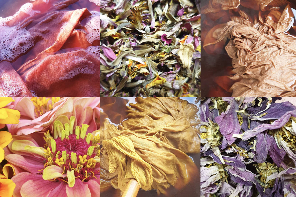OUR NATURAL DYE PROCESS