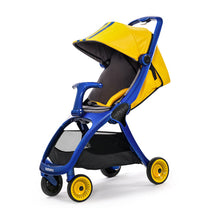 Yellow Luxury Foldable Strollers