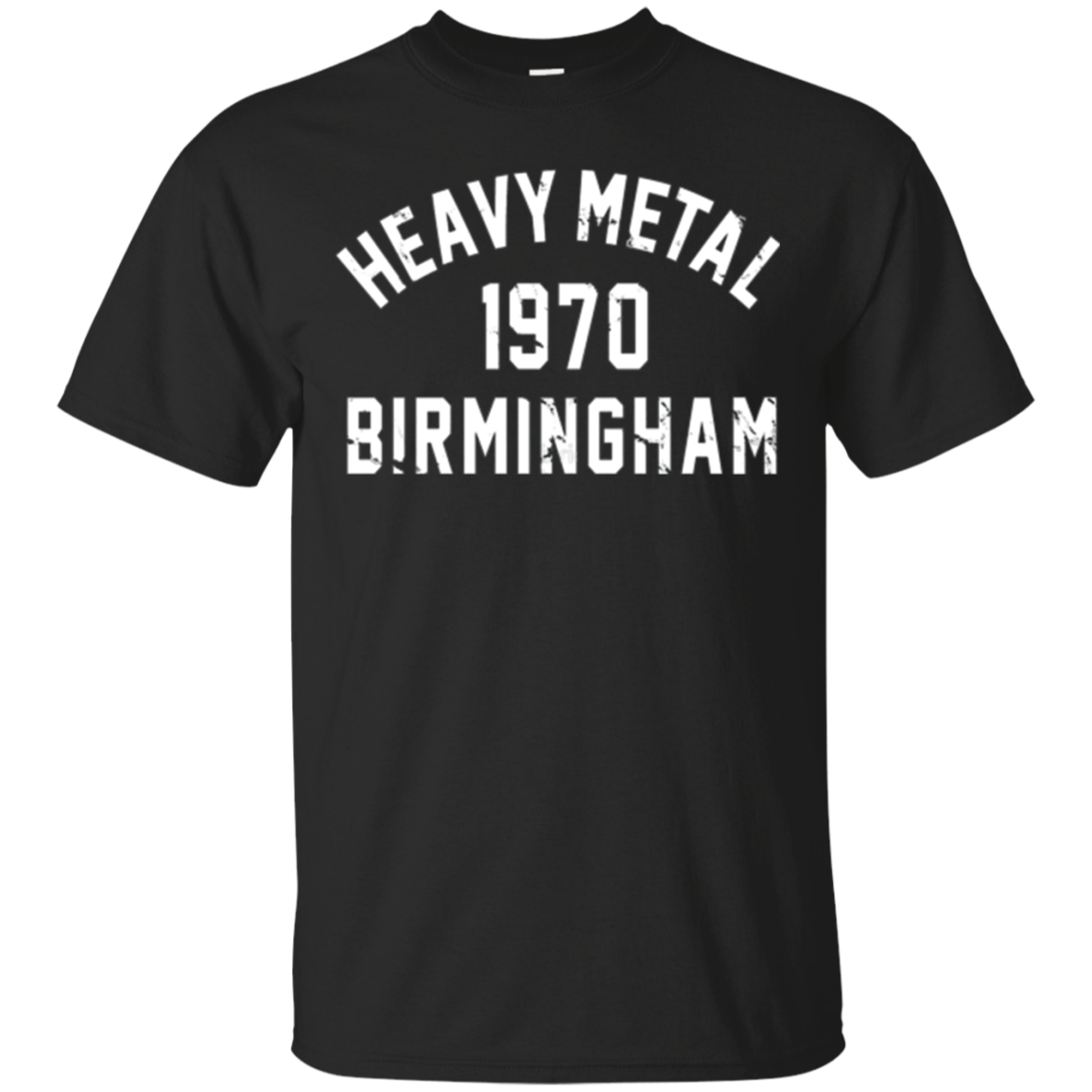 Dicky Ticker Heavy Metal 1970 T-shirt Birmingham Sabbath