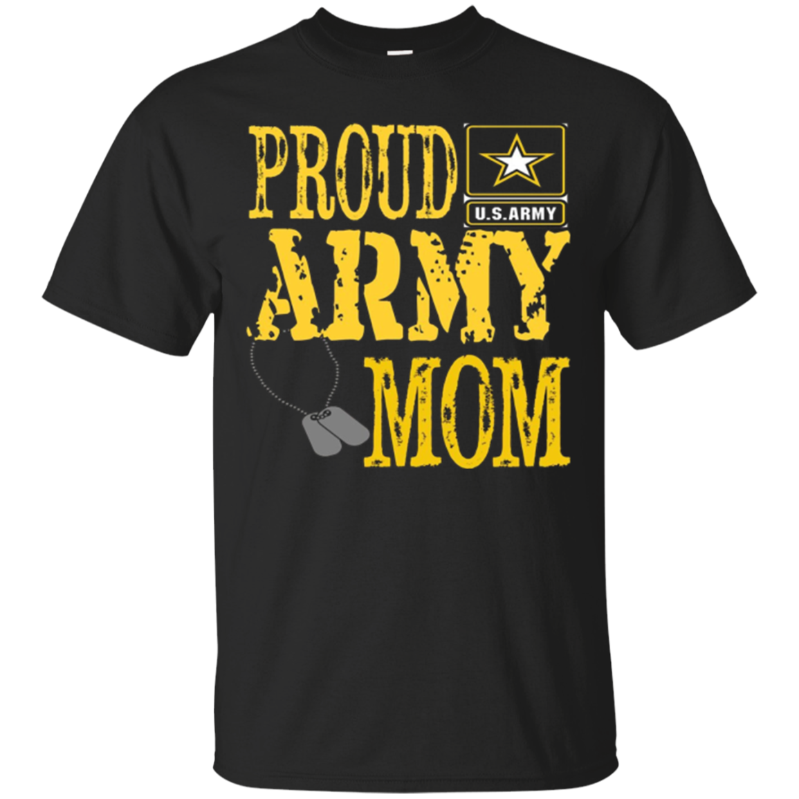 Proud US Army Mom Shirt Military Pride T Shirt