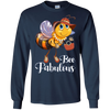 Image of Bee Fabulous Whimsical Inspirational Cute Shirt