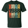 Image of Vintage Virgo 1988 T-Shirt 29 yrs old Bday 29th Birthday Tee