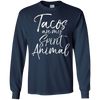 Image of Tacos are my Spirit Animal Shirt Funny Cute Mexican Food Tee