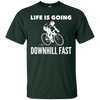 Image of Funny cycling t shirt - Life is Going Downhill Fast