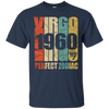 Image of Vintage Virgo 1960 T-Shirt 57 yrs old Bday 57th Birthday Tee