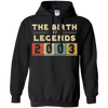 Image of Retro The Birth Of Legend USA 2003 14th Birthday Gift 14 yrs