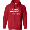 Image of Avoid Negativity Funny Math Problem Engineer Shirt Gift