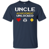 Image of Uncle Gif T-Shirt - Uncle Achievement Unlocked Uncle Gamer