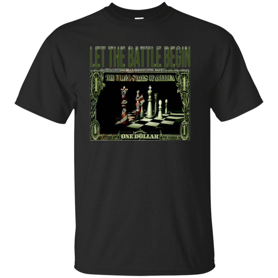 Let The Battle Begin-Funny Men Women Kids Chess T-Shirt