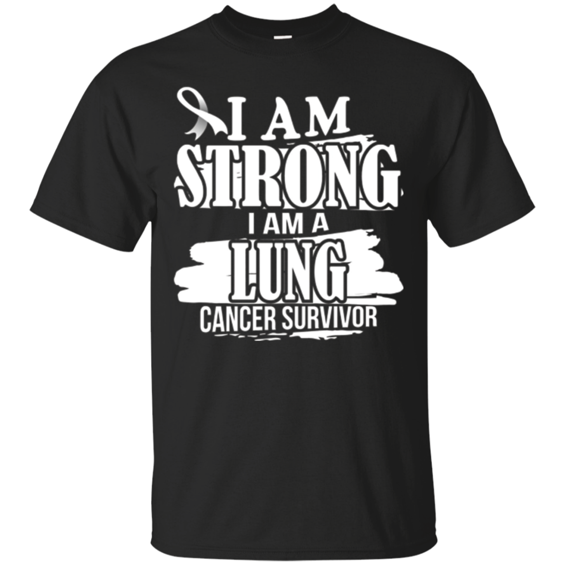 I am Strong I'm a Lung Cancer Survivor, Awareness T Shirt