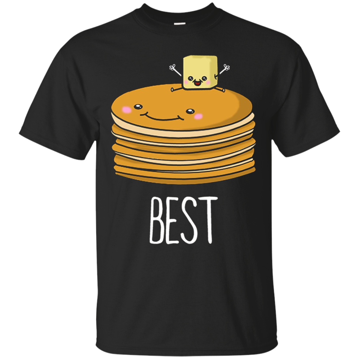 Pancakes And Syrup Cute Best Friend Shirts For Women