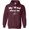 Image of My Wand Chose Me Knitting Needles Crafting T-Shirt