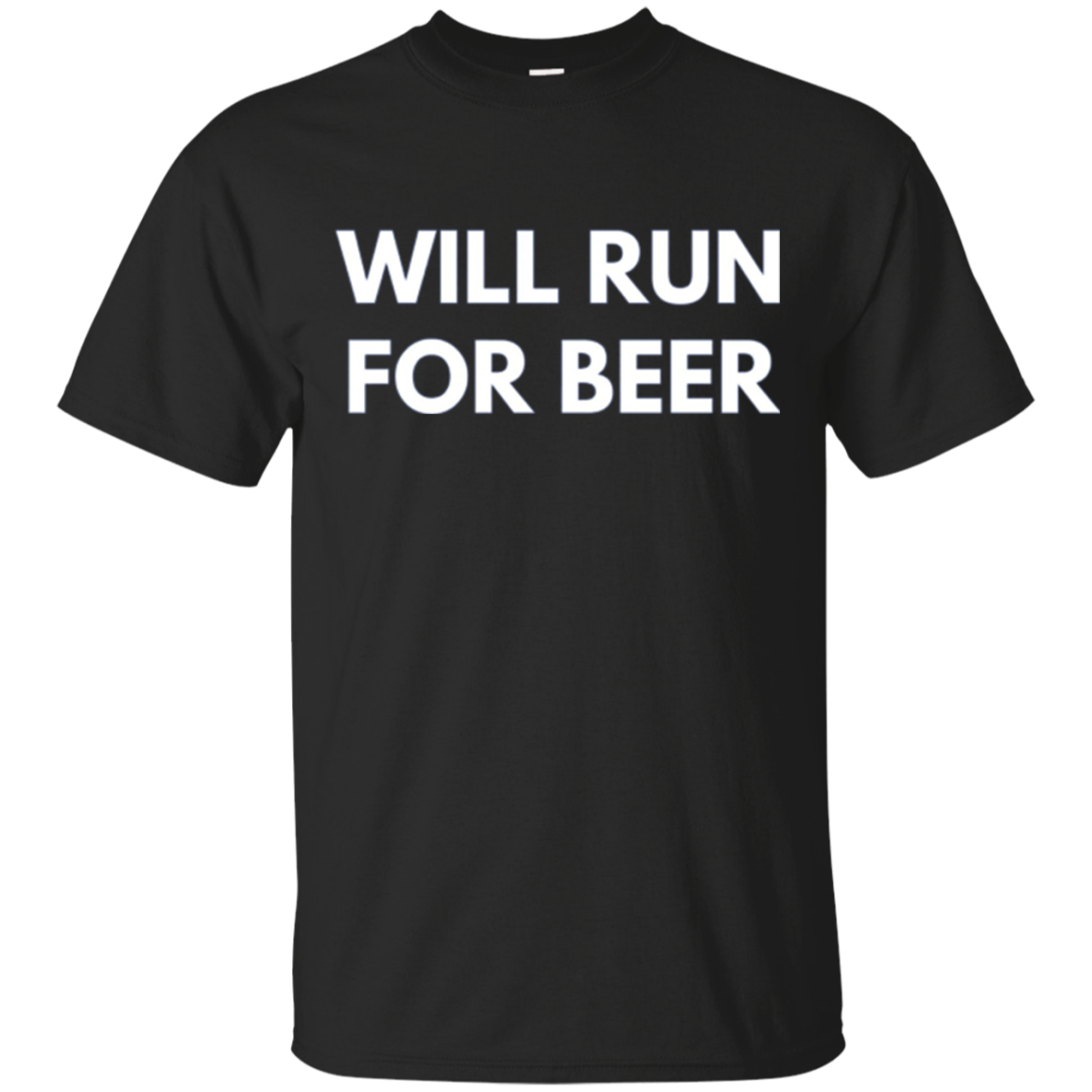 Will Run For Beer - Long Sleeve Shirt