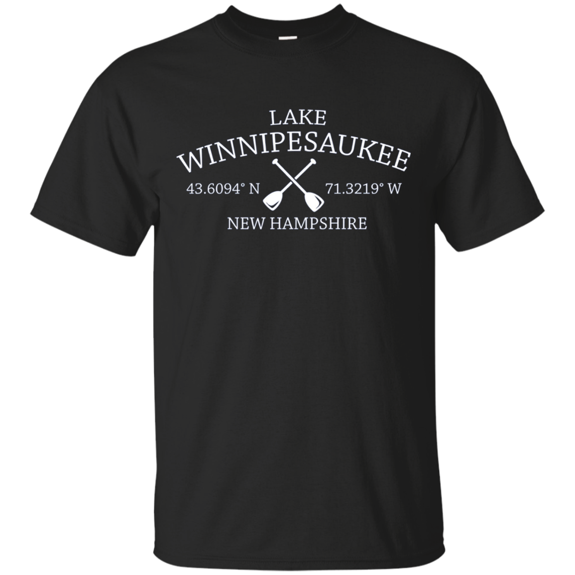 Classic Lake Winnipesaukee Long Sleeve Shirt - New Hampshire