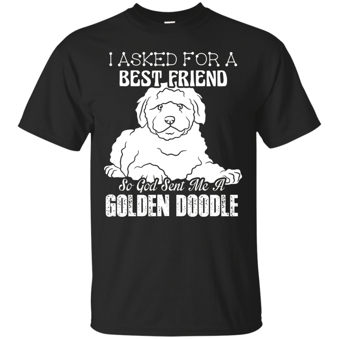 Goldendoodle Shirts - Best Friend Goldendoodle Tshirts