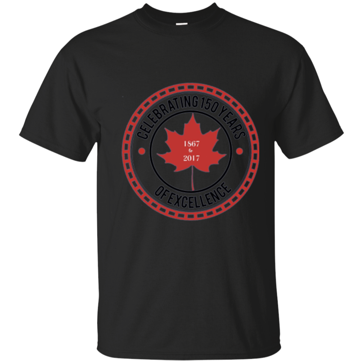 MASTER TSHIRTS:  Original Canada Day 150th Celebrating 150