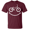 Image of BMX Shirt: Smile Funny Love Bike Rider Gift T-Shirt